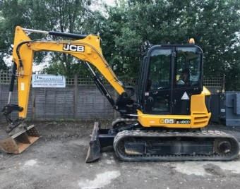 2015 JCB85Z-1 ECO 800 HOURS