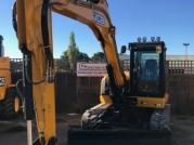 JCB 100C-1 25 HOURS 4 WAY BLADE JCB 100C-1
