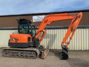 2018 DOOSAN DX85R-3 1200 HOURS